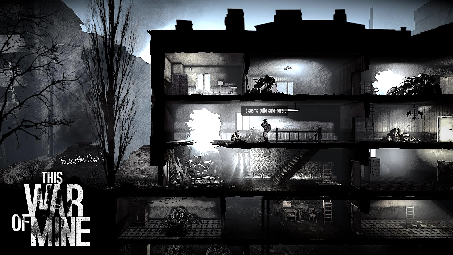 War of Mine The Amazing Game Of War For Survival Comes To Android Tablets And TV - tinoshare.com