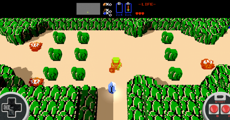zelda browser game