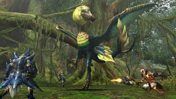 monster hunter games online