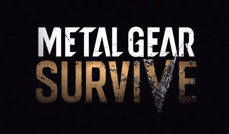 Konami Announces New Metal Gear Game, Metal Gear Survive, at Gamescom 2016