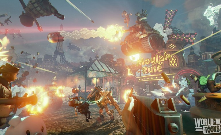 PlayStation VR FPS, World War Toons Open Beta Trailer