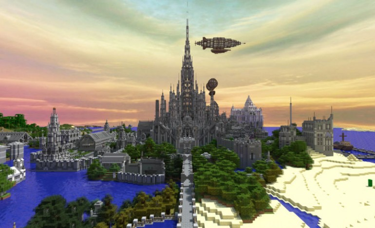 Man Finishes Minecraft Castle After Five Years