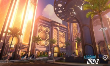 Overwatch's Latest Map, Oasis, Is A Sight Seeing Tour With Deadly Cars And Museums