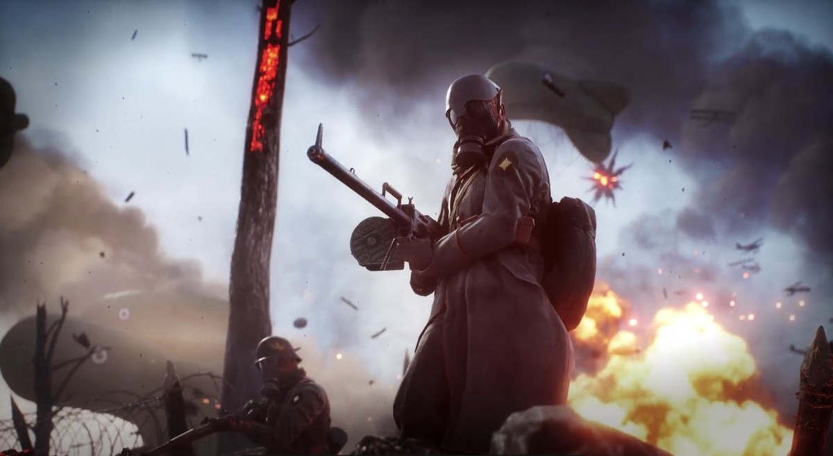 """DICE Sent Out a Teaser on Twitter Today For Battlefield 1's 'Shall Not Pass"""" DLC"""