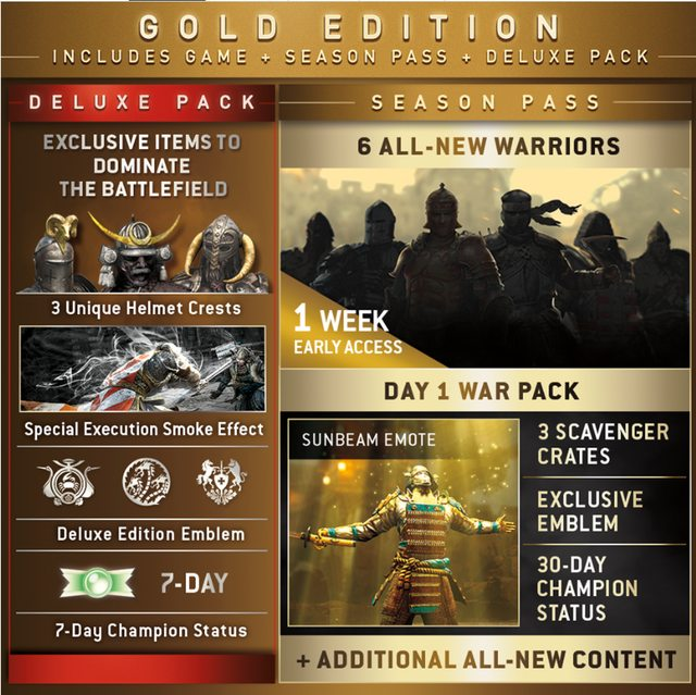 for honor season pass maybe