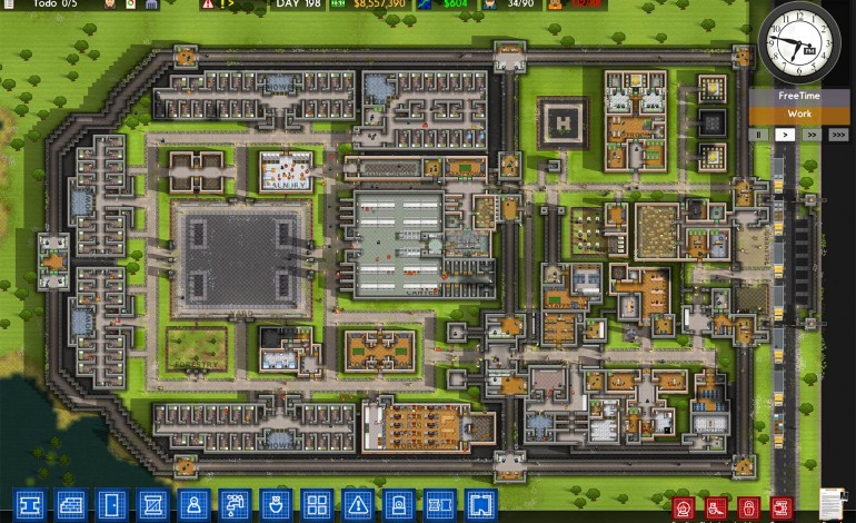 Prison Architect Developers Break Geneva Convention
