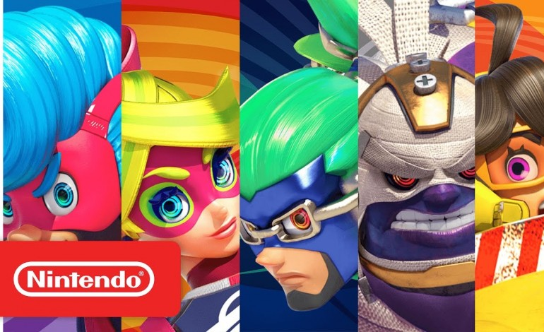 'Arms': Meet the cast and weapons of the upcoming Switch fighter