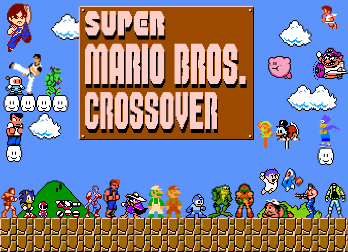 Super Mario Crossover 3.0 Released | mxdwn Games