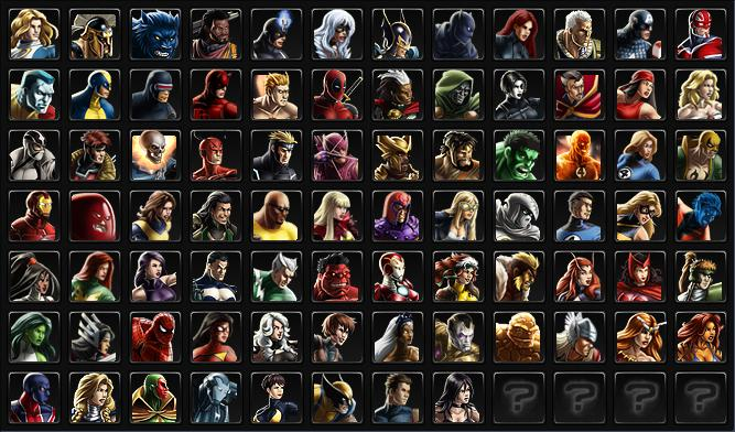 Marvel Liste