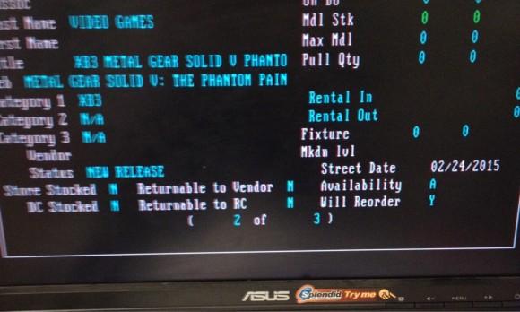 Metal Gear Solid 5 The Phantom Pains