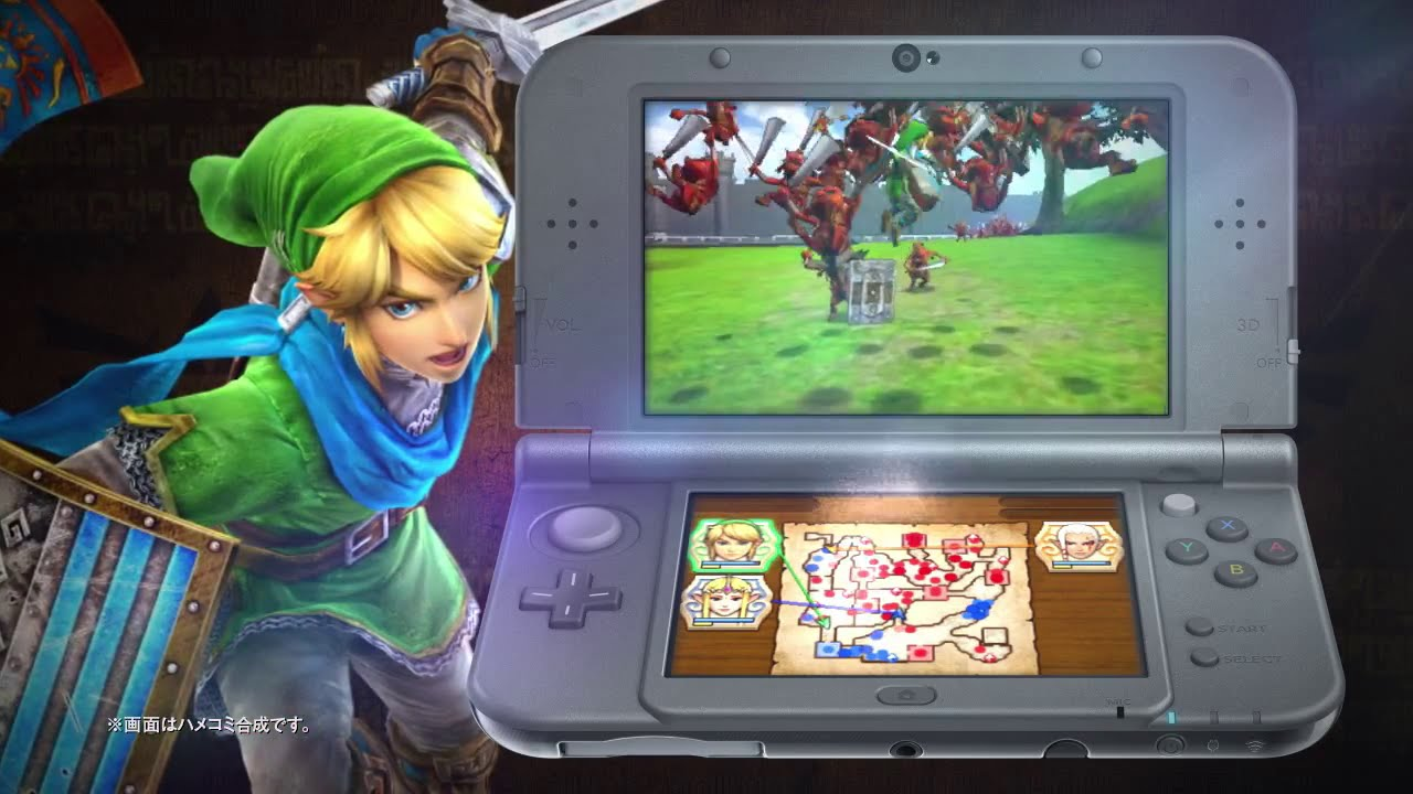 Hyrule Warriors Legend Has Problems Running On Old 3ds Systems Mxdwn Games