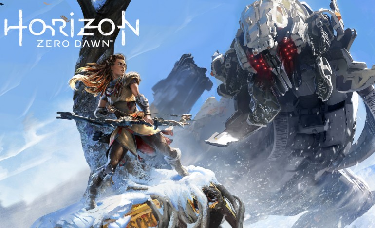 Horizon Zero Dawn Hype Continues With Giant E3 Poster In LA