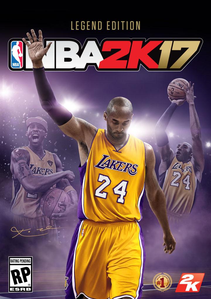 2K17 Legends Cover