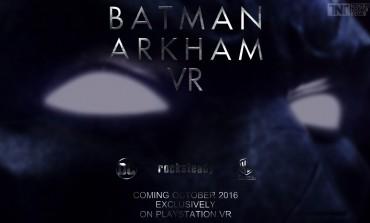 Batman Arkham VR E3 2016 Trailer Announced