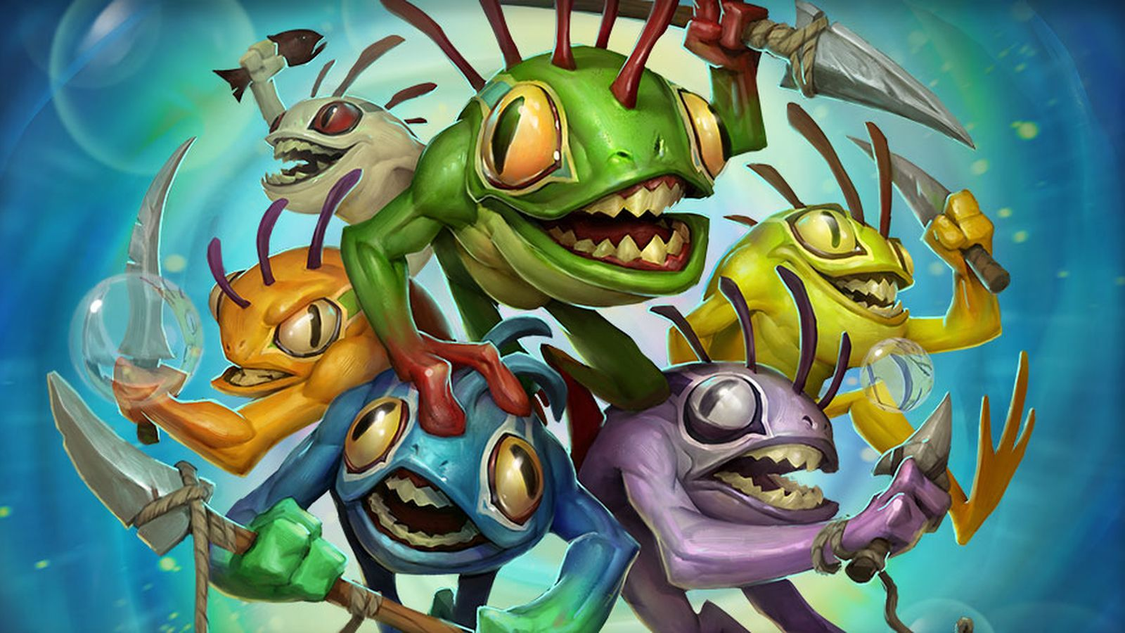 Hearthstone: Heroes of Warcraft Releases New Murloc When You Recruit A Friend | mxdwn Games