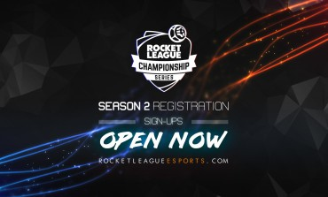Rocket League's Second Championship Season Is Now Open For Registration