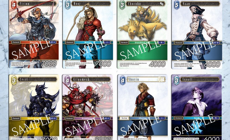 Final Fantasy Trading Card Game Makes Its Way to UK and US