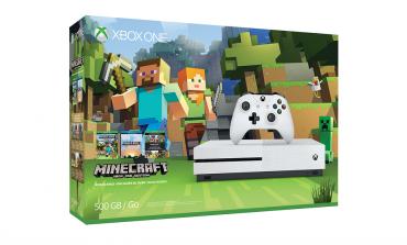 Xbox One S Minecraft Bundle Released