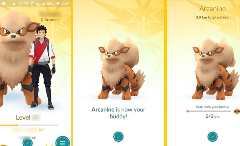 Pokemon Go Update Introduces New Buddy System