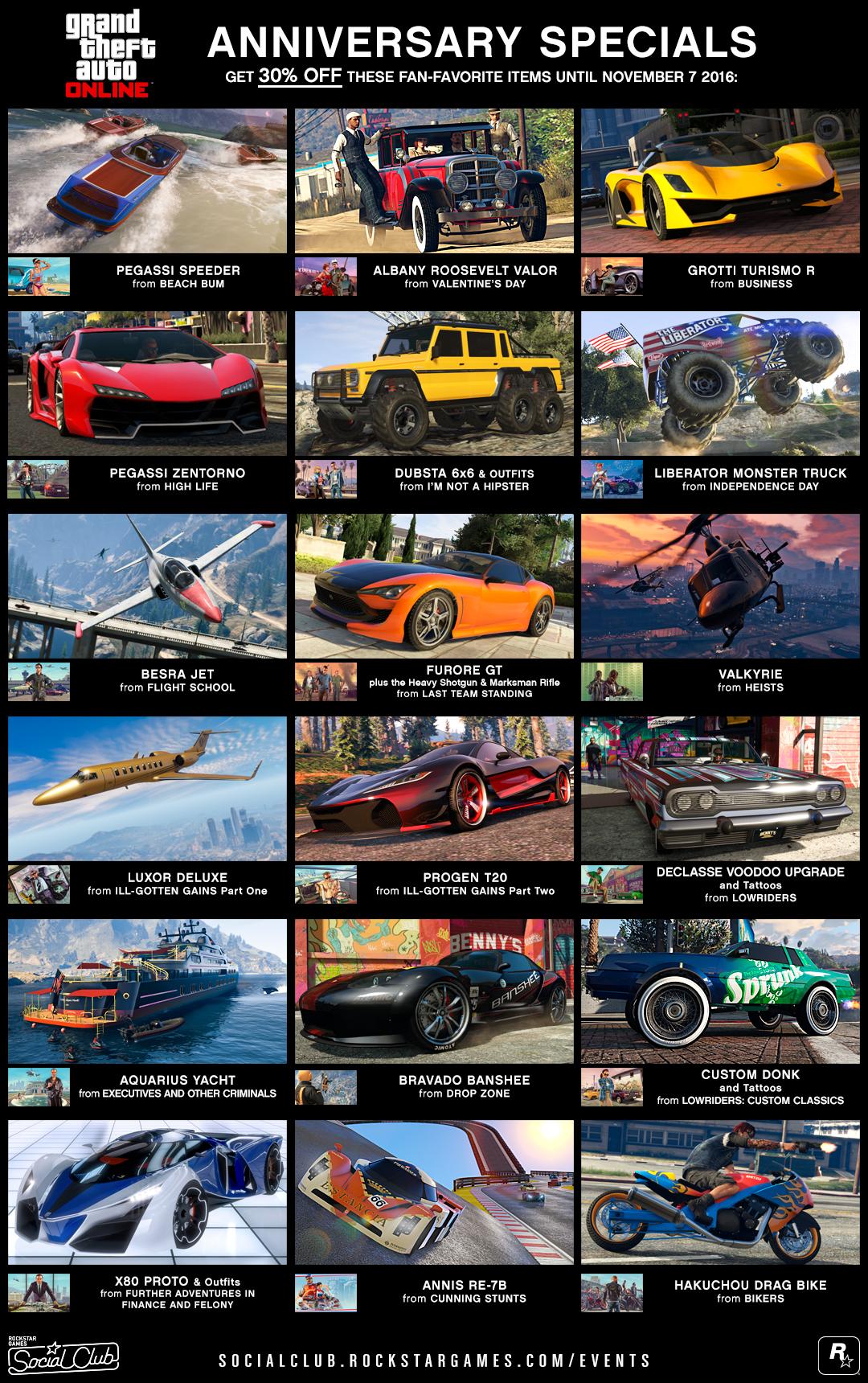 GTA 5 Discounts