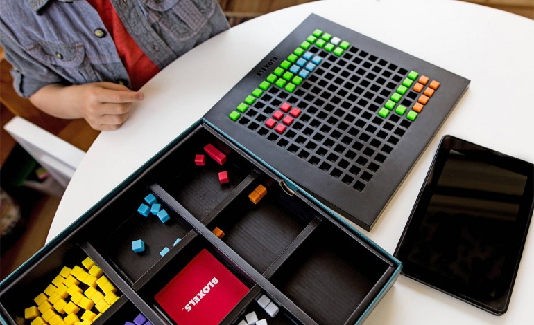 Bloxels Is A Fun Way To Introduce Kids To Game Design By Letting Them Build A Video Game Out Of Blocks