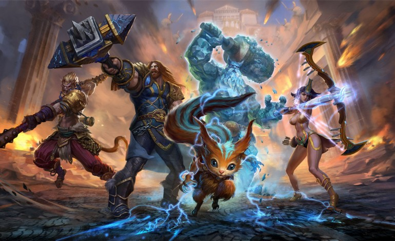 Smite Already Released Details For a New God in Patch 3.21