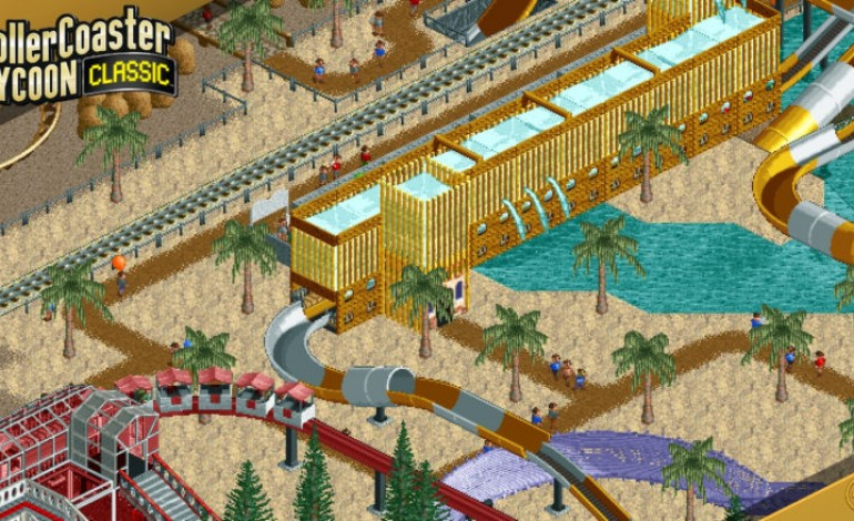 Roller Coaster Tycoon Headed to a Mobile Device Near You