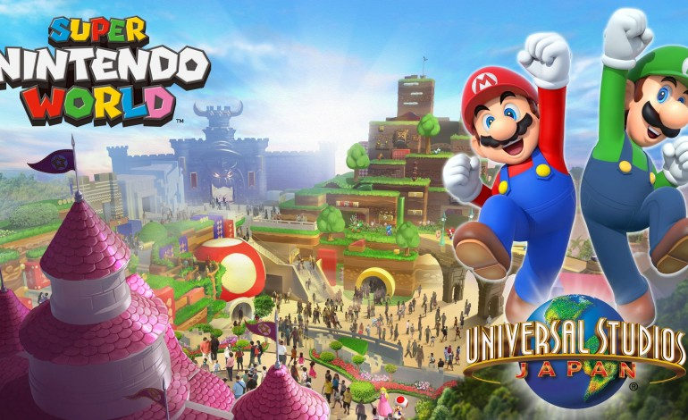 Super Nintendo World to Open in Japan in 2020
