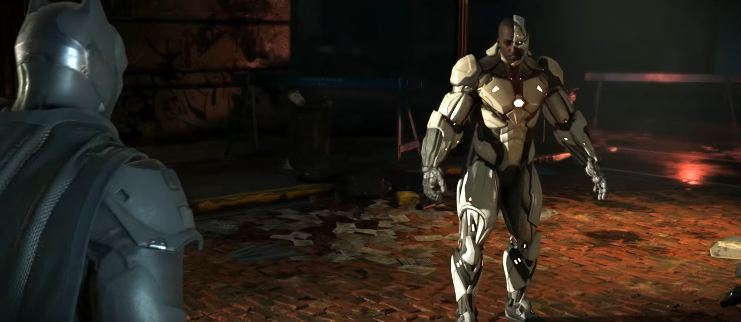 cyborg injustice two ahhh!!!