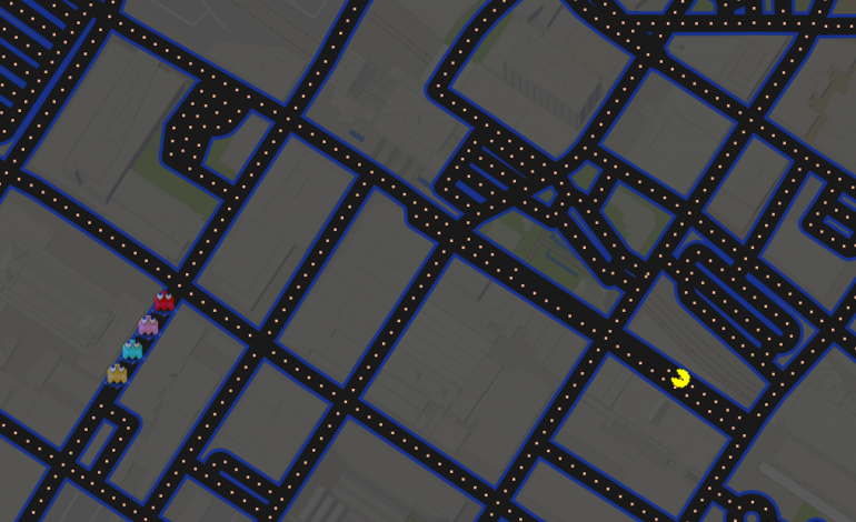 You Can Play Pac-Man In Google Maps