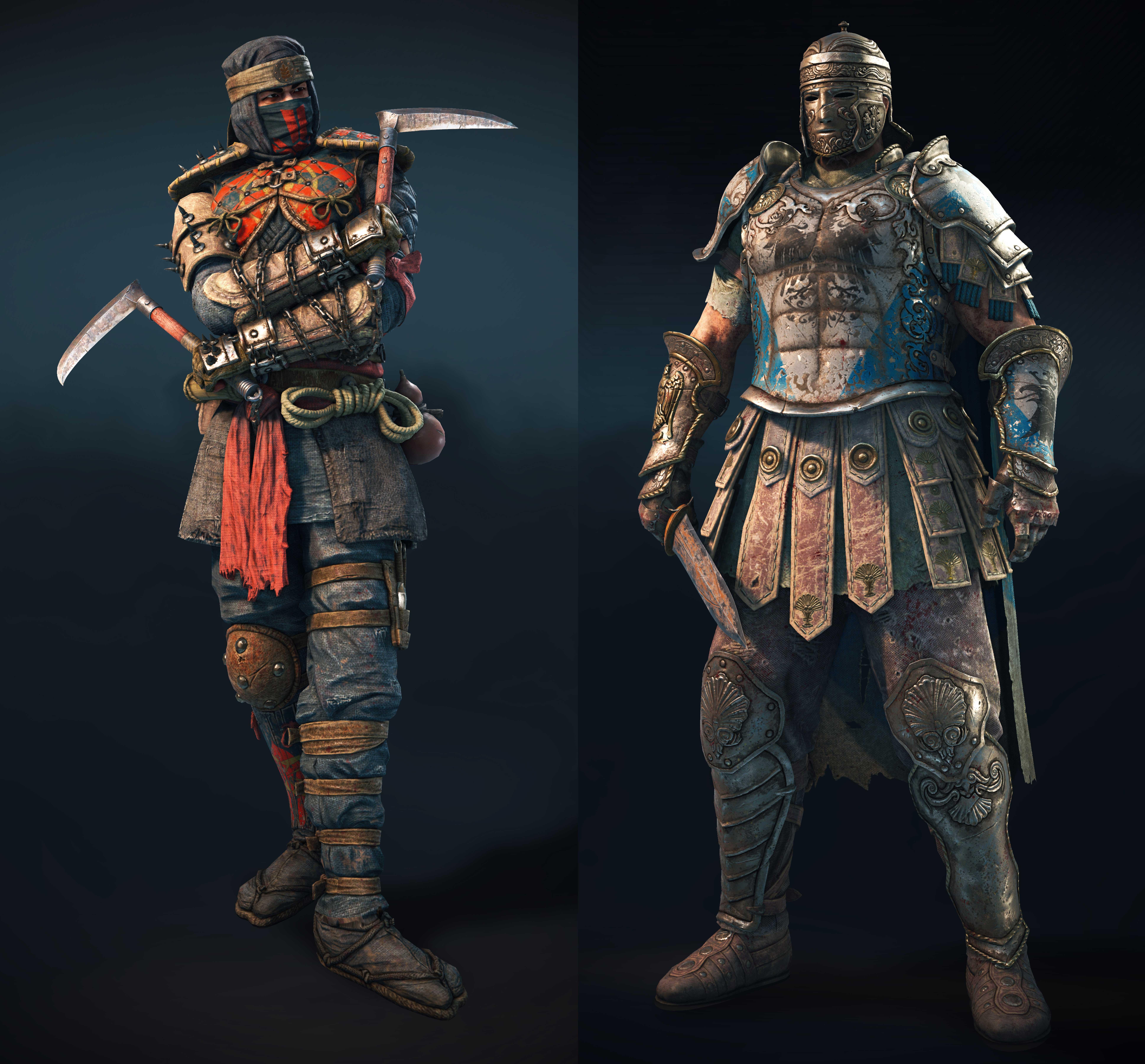 shinobi and centurion