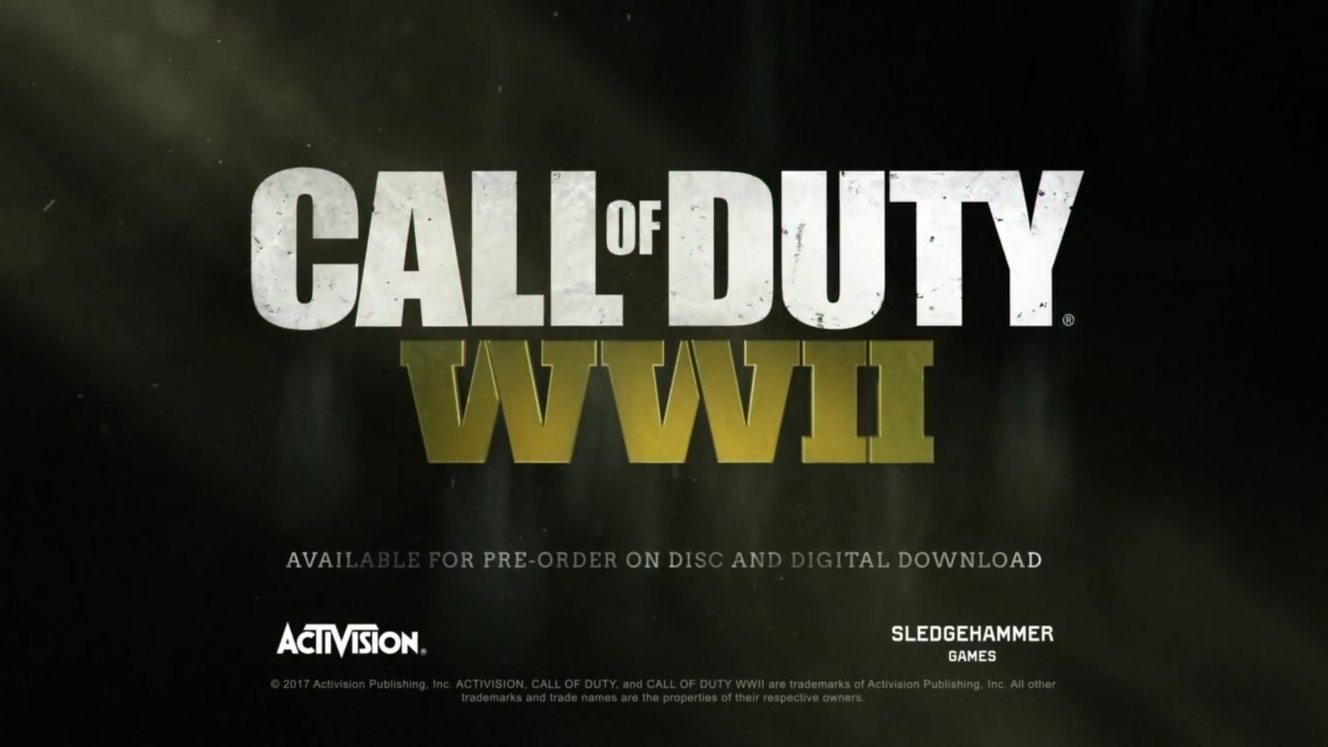 Call of Duty: World War II Might Come to Switch