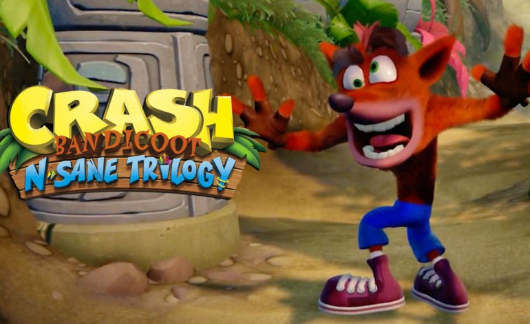 Crash Bandicoot Rescues Falling UK Game Sales