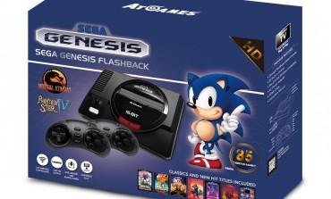 Sega Genesis and Atari Classic Consoles Coming This September