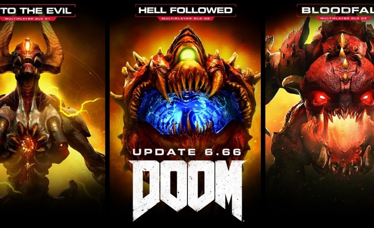 Doom update 6.66 unlocks all multiplayer DLC and overhauls player progression