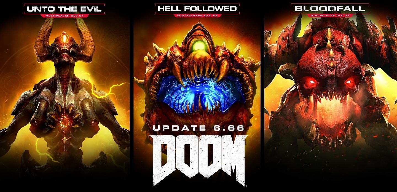 """DOOM Gets Overhauled in """"Ultimate"""" Update 6.66; Free to Play This Weekend"""