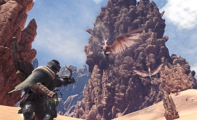 Take a first look at the Wildspire Waste Area in Monster Hunter