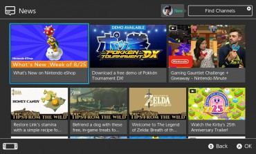 Nintendo Adds In-Game Items, More Channels to Switch's News Feed
