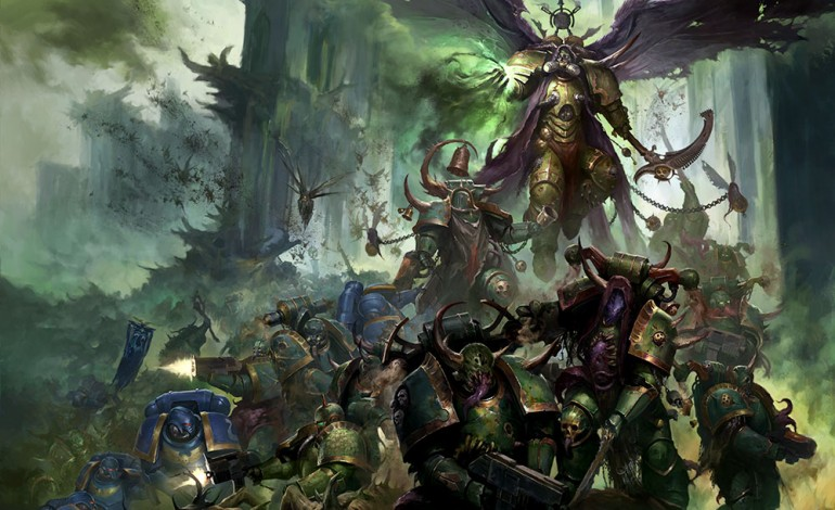 Games Workshop Gives a Preview of the New Death Guard Codex
