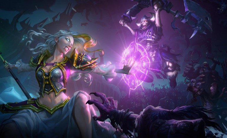 Hearthstone's Knights of the Frozen Throne Release Date Announced
