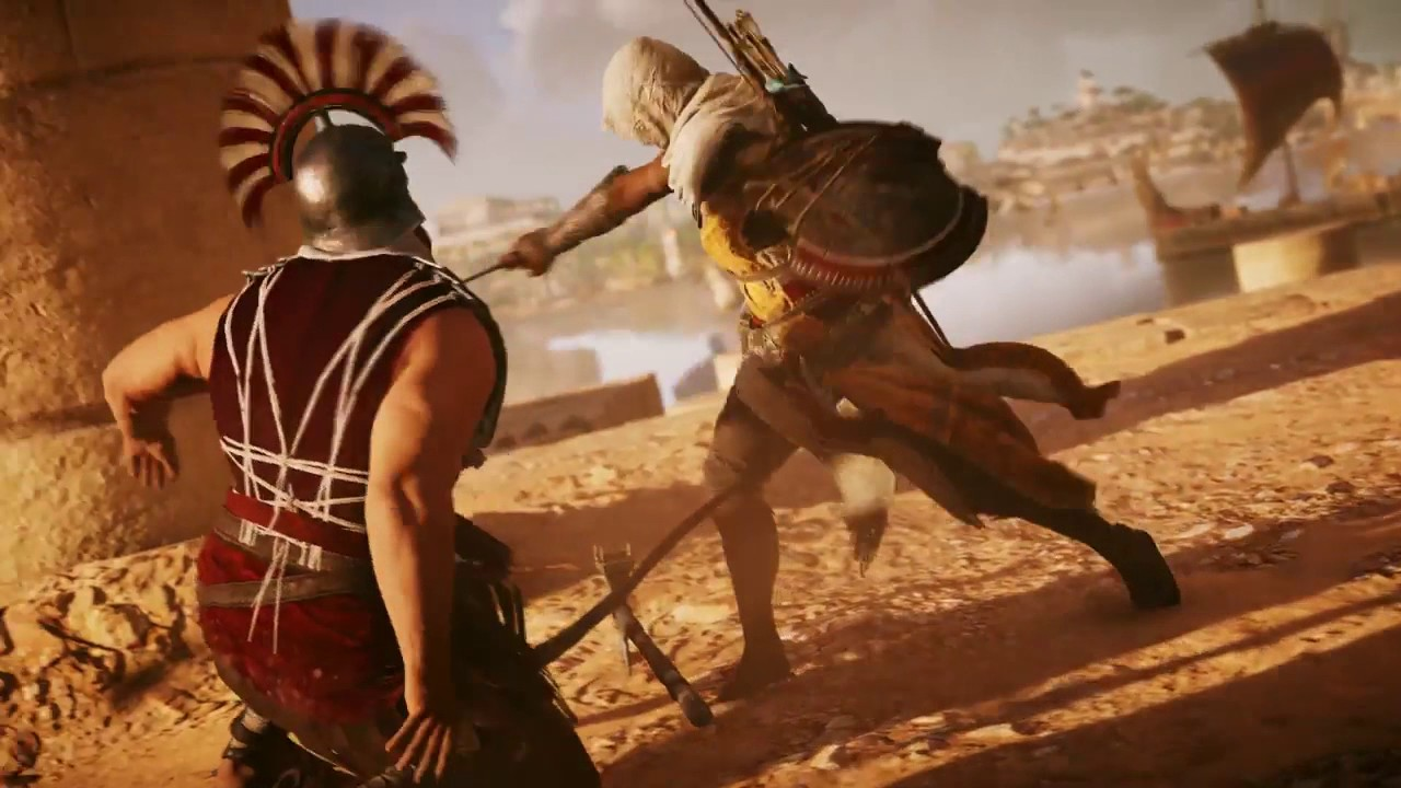 Ubisoft Reveals New Details on Combat in Assassin's Creed: Origins