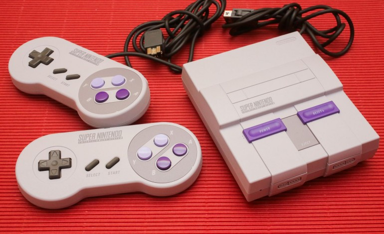 SNES Classic controllers work with NES Classic, and vice versa