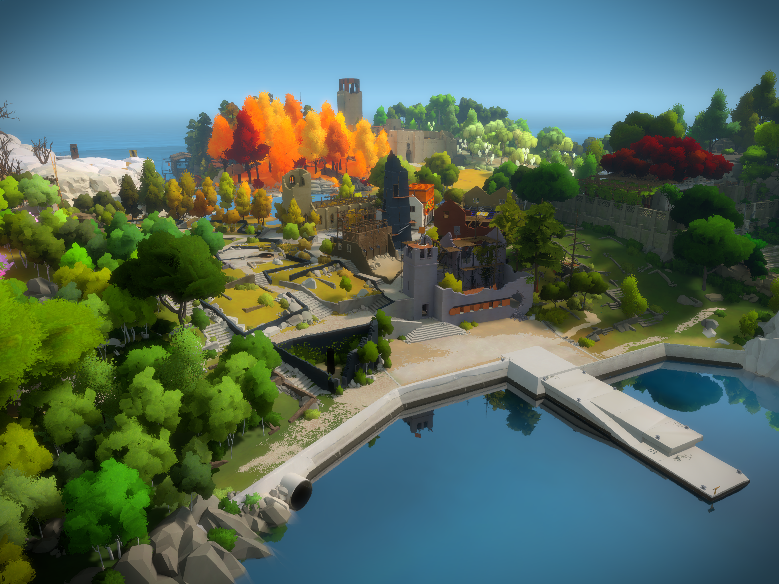 The Witness is Now Available on iOS
