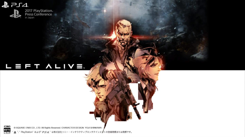 New Details Revealed for Square Enix Game Left Alive