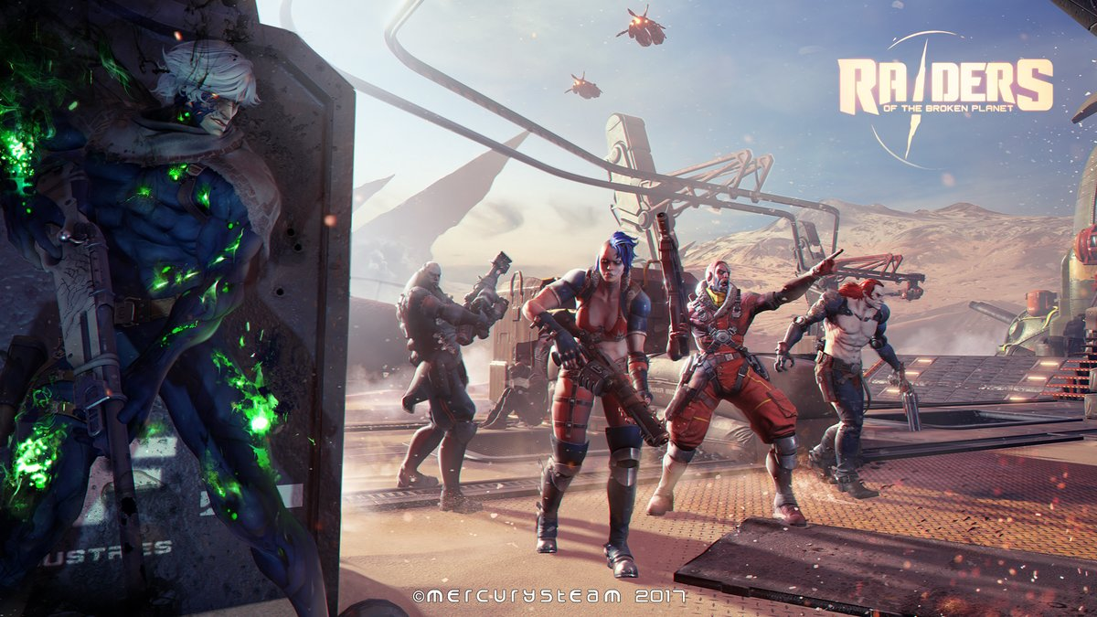 New FPS Raiders of the Broken Planet Has Just Launched