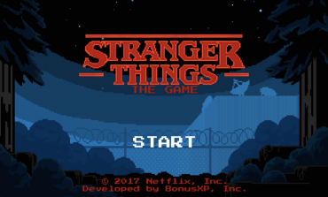 Netflix Drops a Surprise, Retro 'Stranger Things' Game