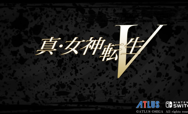 SMT For Switch Is Officially Shin Megami Tensei V