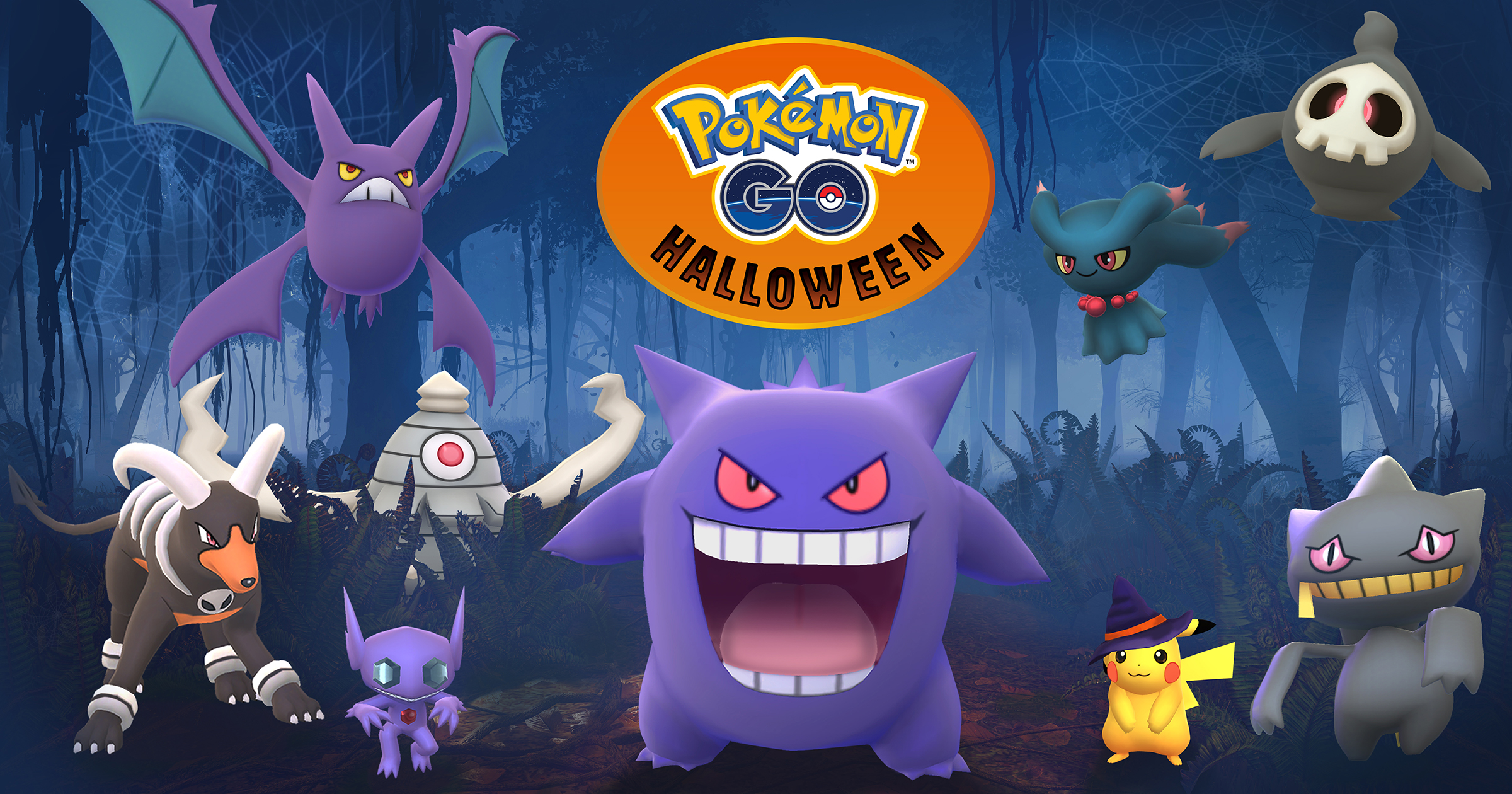 Halloween Returns to Pokémon GO, Third Generation Monsters Appear
