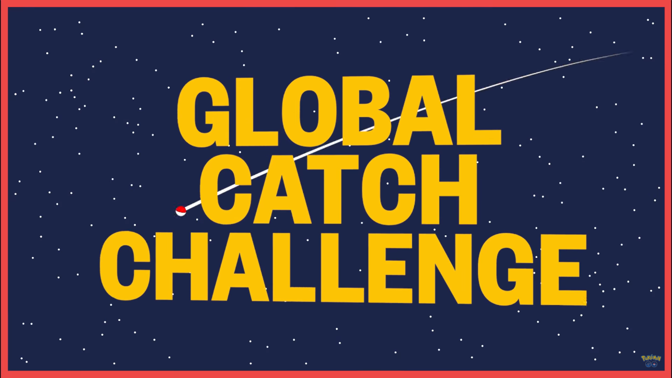 All Rewards Unlocked for the Pokémon Go Global Catch Challenge