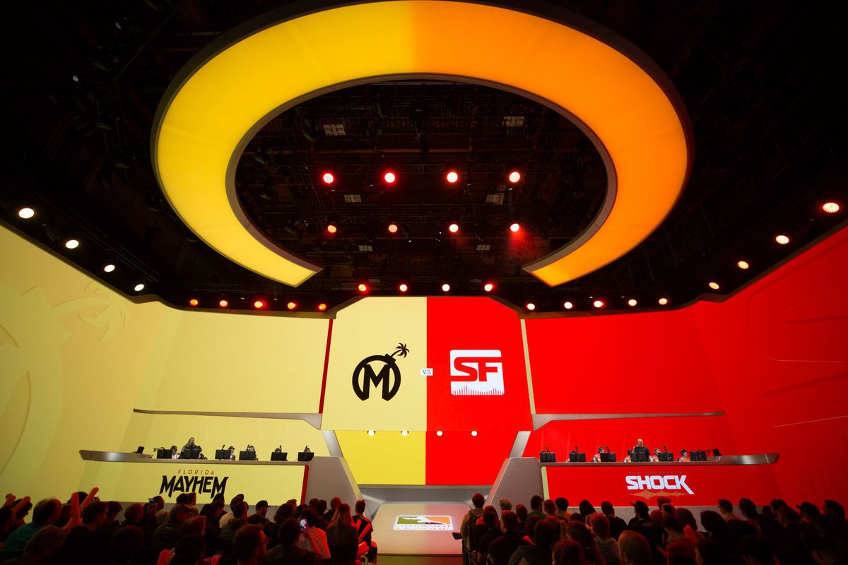 Overwatch League Preseason Kicks Off in Los Angeles